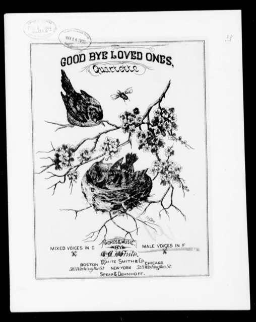Good bye loved ones
