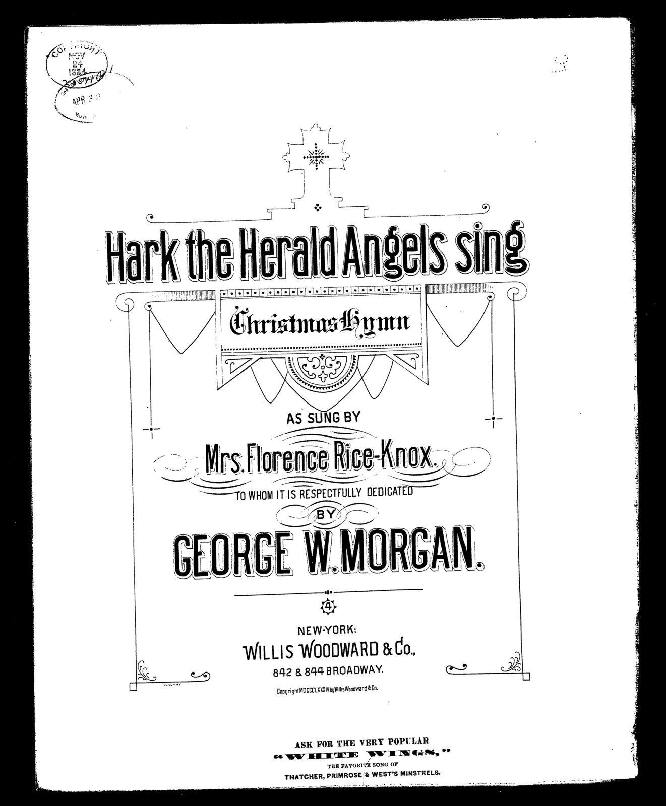 Hark! The herald angels sing; Hymn