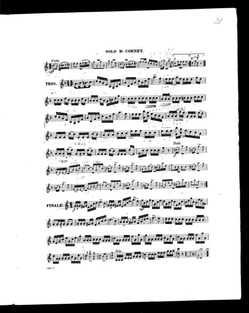 Islington polka [cornet, piano]
