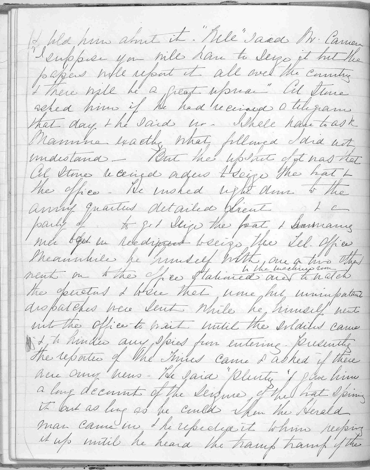Journal by Mabel Hubbard Bell, from October 25, 1884 to November 21, 1886