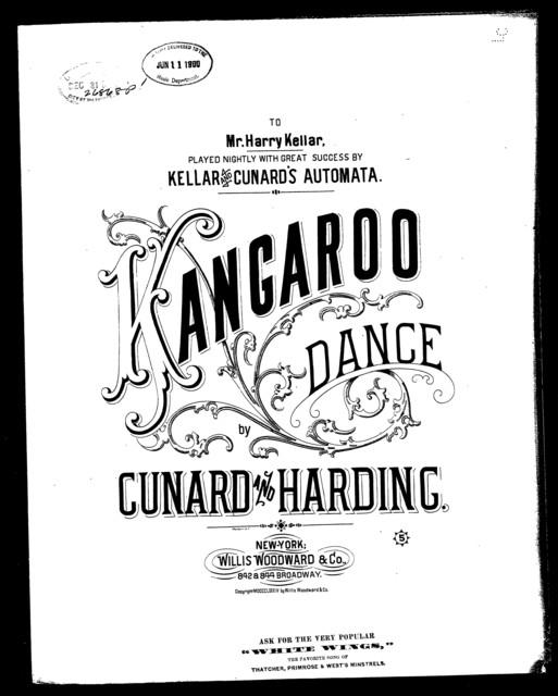 Kangaroo danse