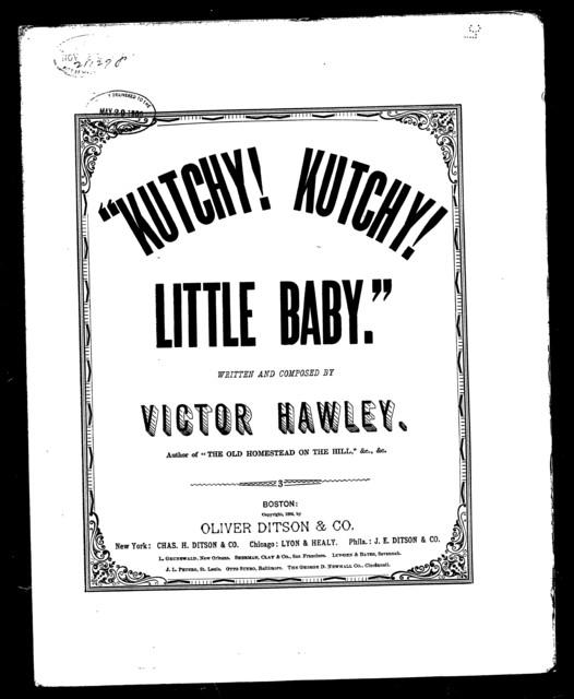 Kutchy! Kutchy! Little baby!