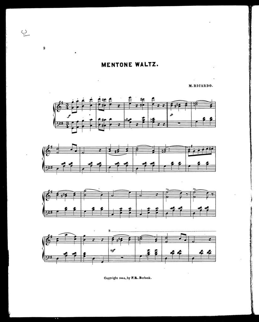 Mentone waltz