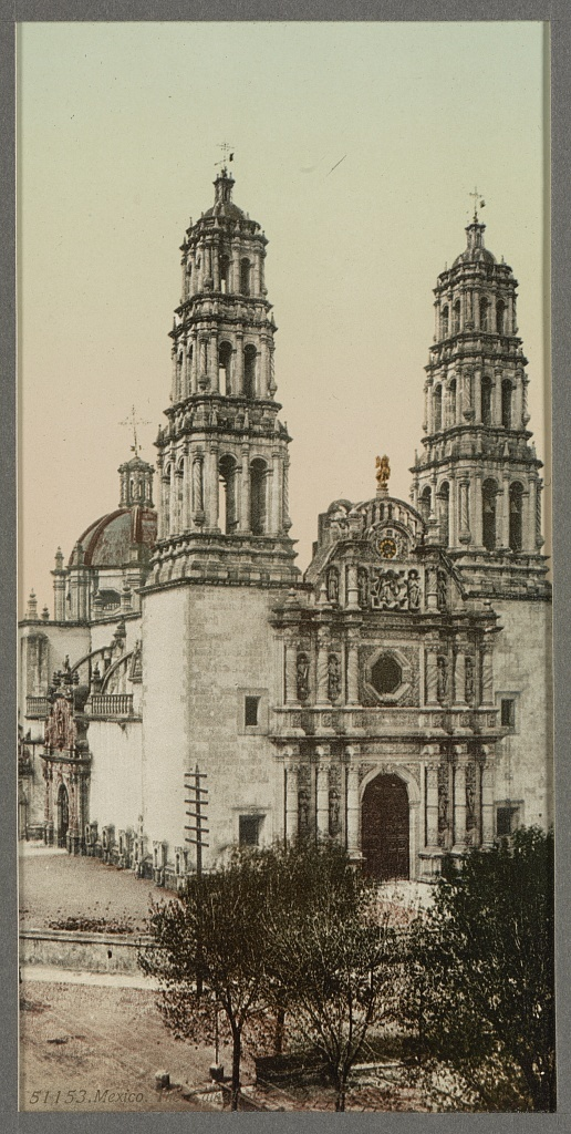 Mexico, the Cathedral, Chihuahua