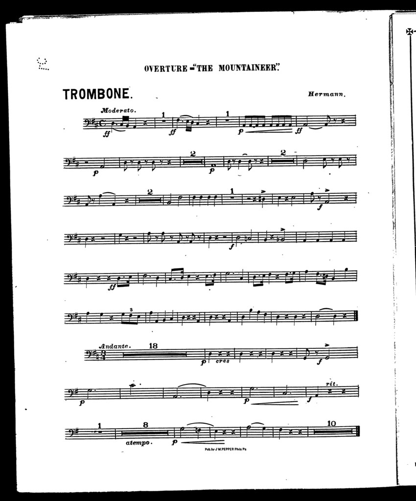 Mountaineer, The; Overture [orchestra]