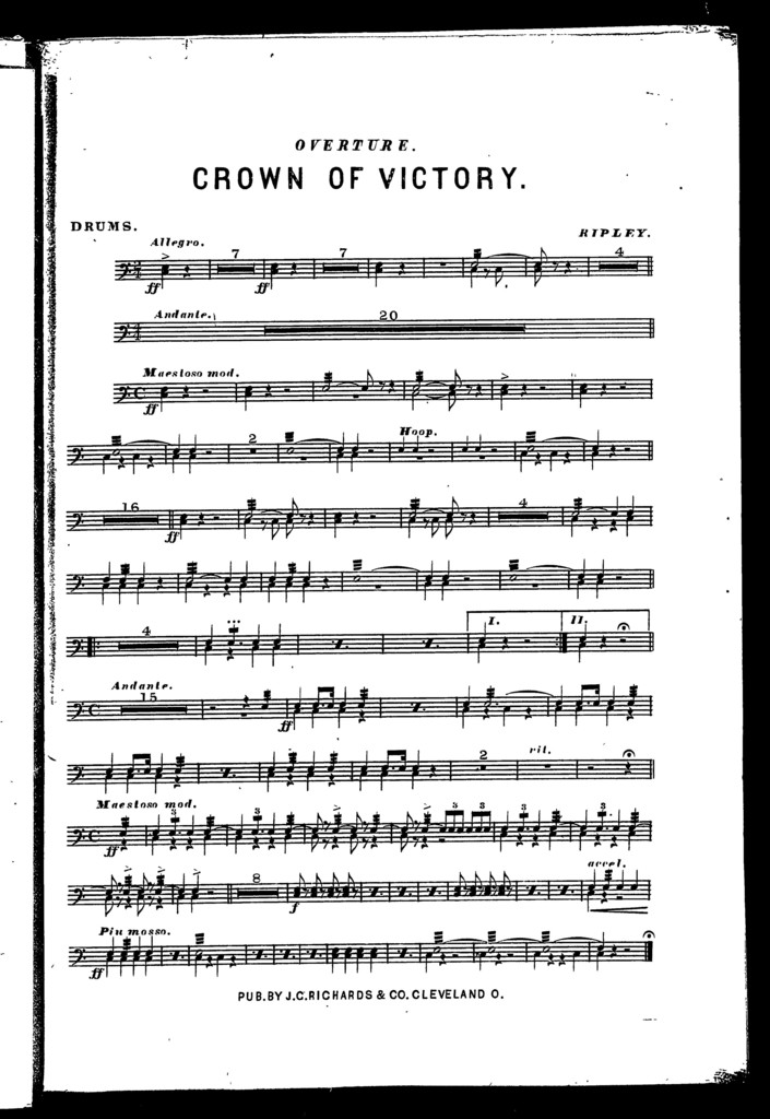 Overture; Crown of victory