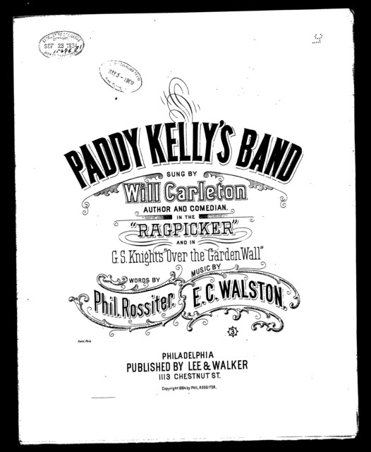Paddy Kelly's band