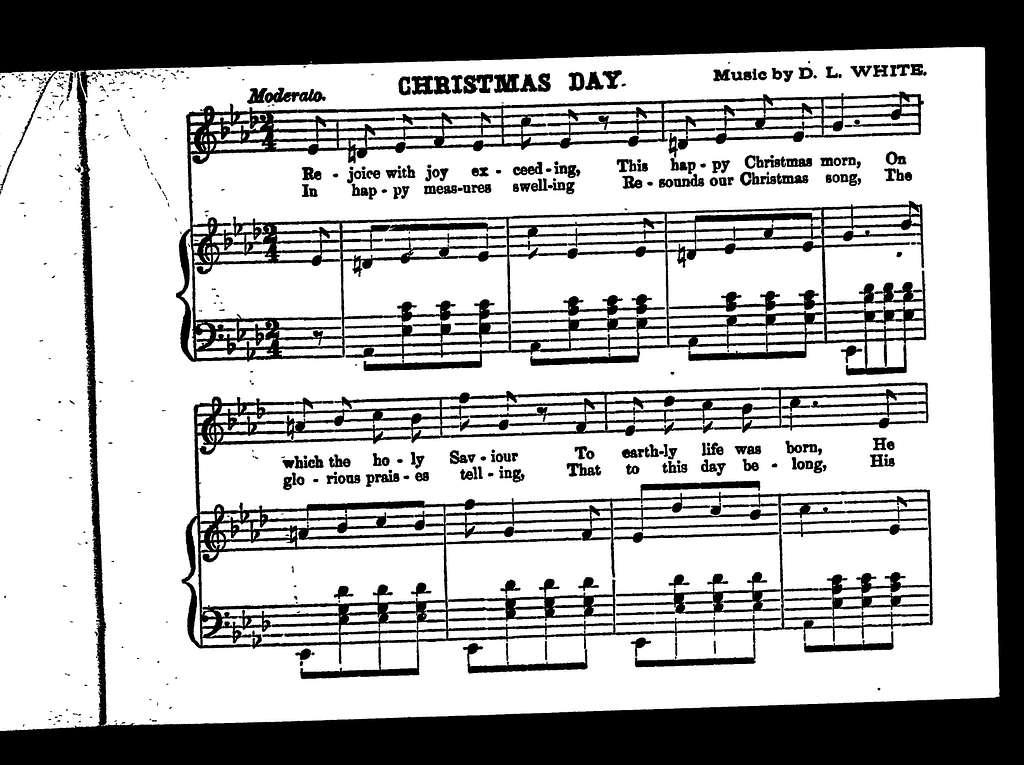 Perkins' Christmas carols