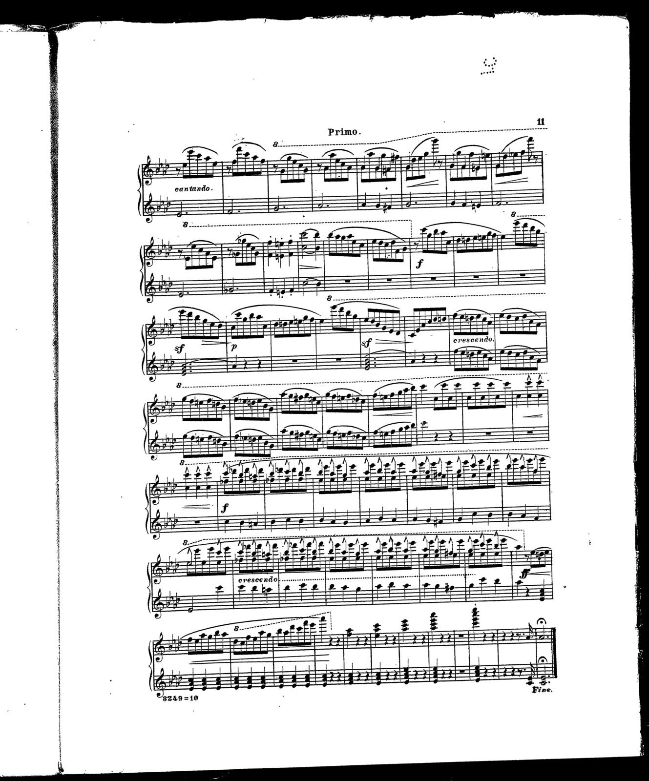 Princesse-valse [piano 4-hands]