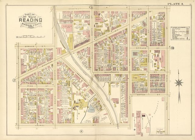Property and insurance atlas of the city of Reading, Berks County, Penna. : from official records and actual surveys /