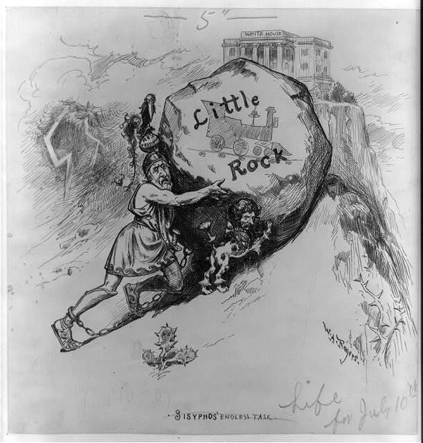 Sisyphus's endless task