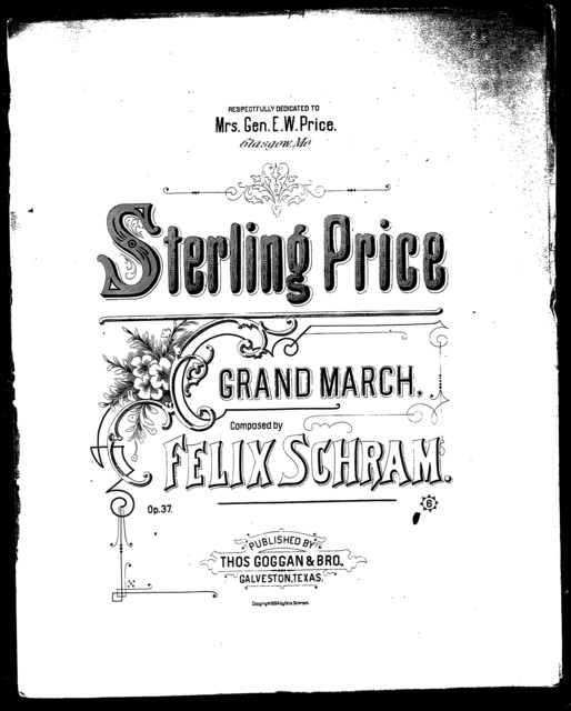 Sterling price; Grand march