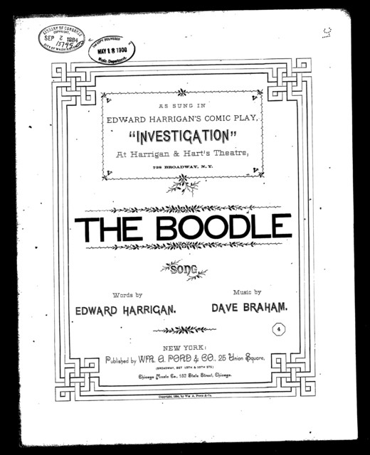 The  Boodle