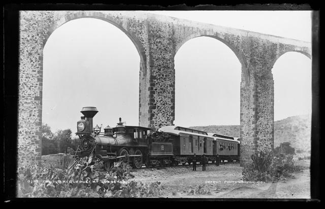 The old acqueduct at Queretaro