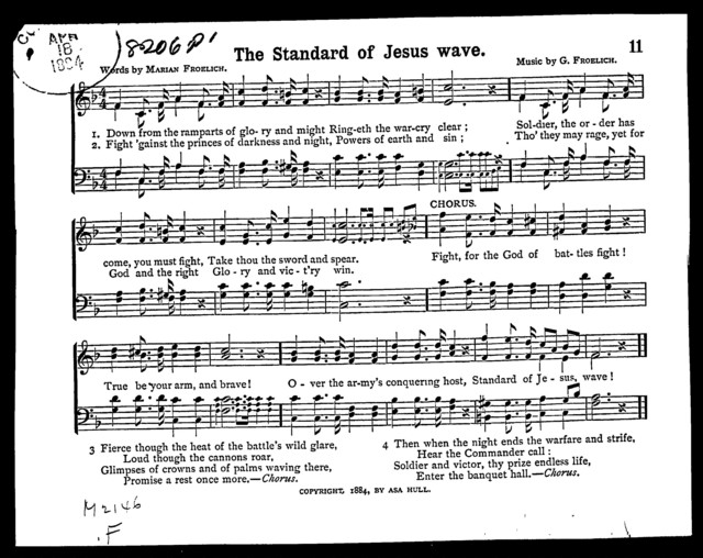 The  Standard of Jesus wave