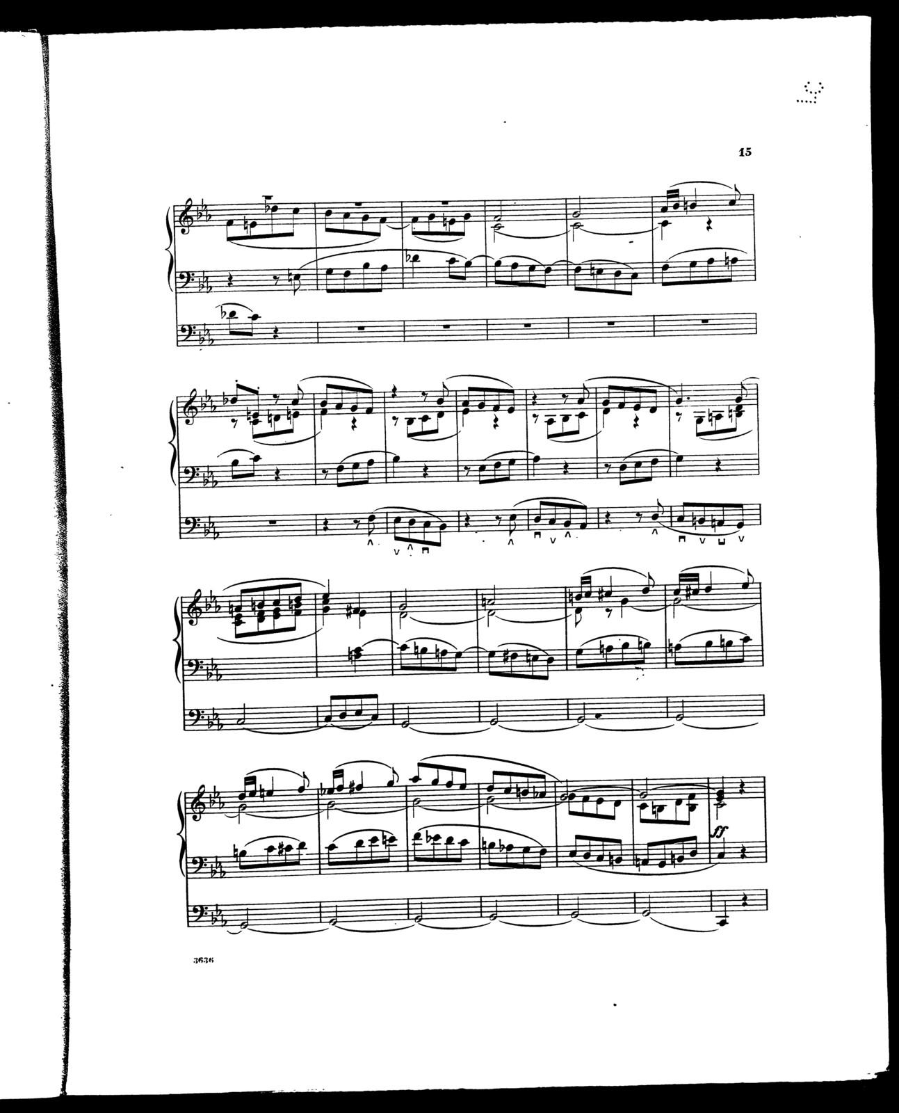 Third sonata in c minor