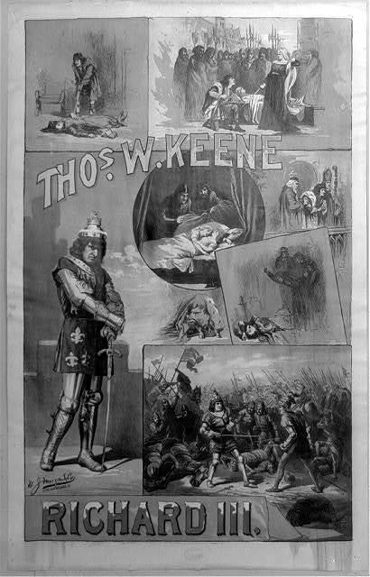 Thos. W. Keene. Richard III