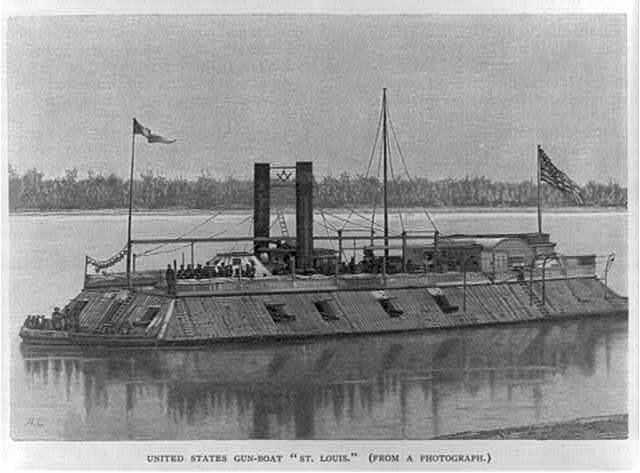 U.S. gunboat ST. LOUIS