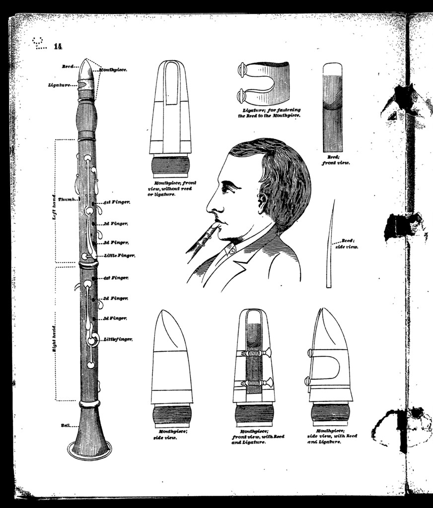 Winner's practical school for the clarinet