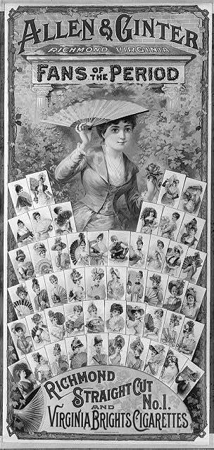 Allen & Ginter, Richmond, Virginia, fans of the period