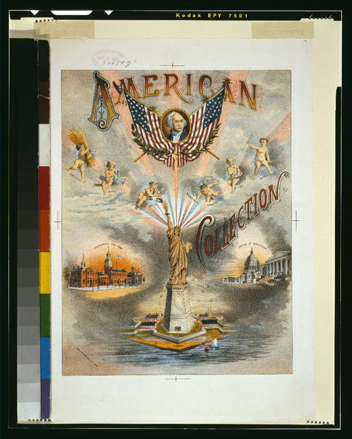 American collection / Geo. H. Walker & Co. lith., Boston.