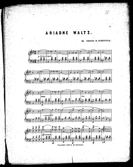 Ariadne waltz