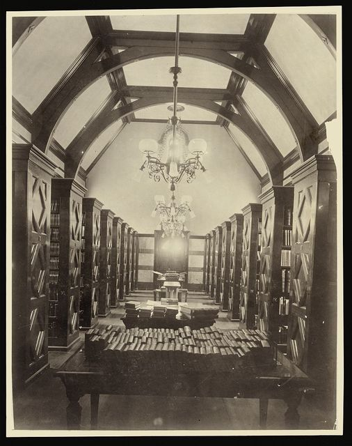 [Book room, Norman Williams Public Library, Woodstock, VT.]