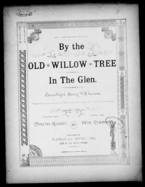 By the old willow tree in the glen