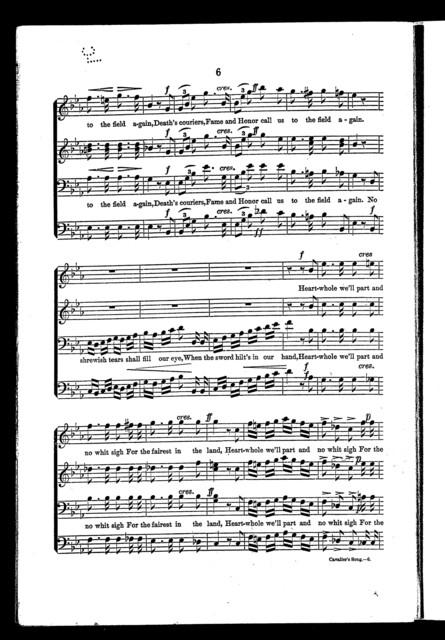 Cavalier's song