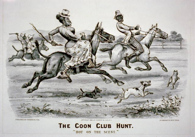 "Coon club hunt: ""Hot on the Scent"""