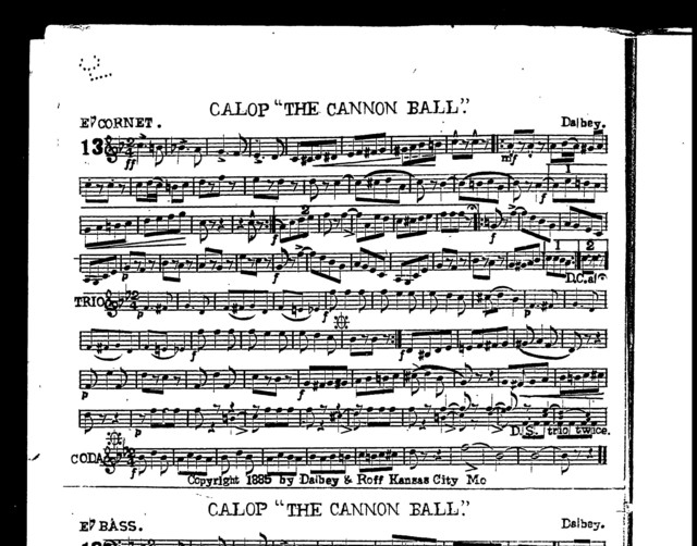 Galop; The Cannonball