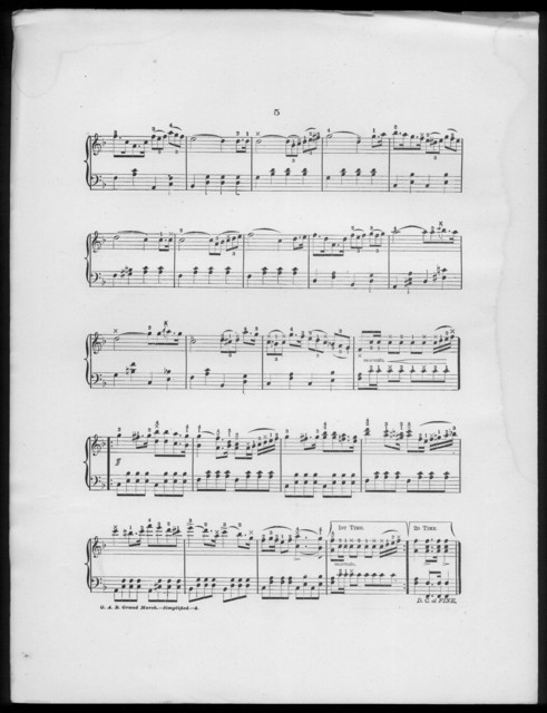 G.A.R. grand march, op. 125