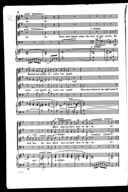 Gloria in excelsis; Chant-form