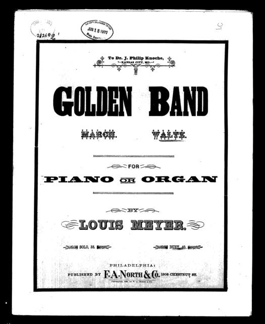 Golden band; Waltz