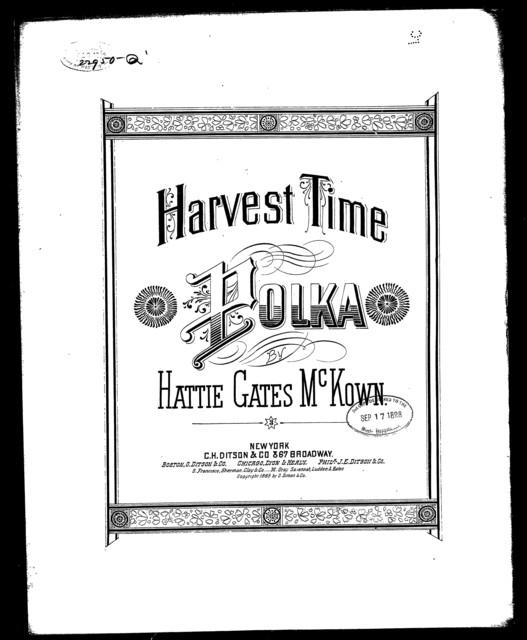 Harvest time; Polka