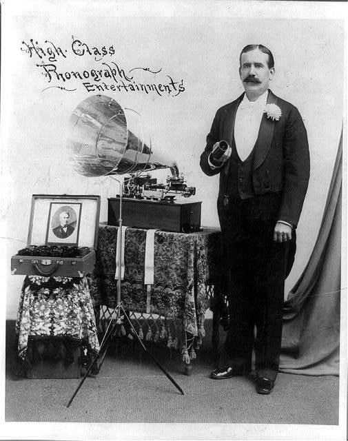 High class phonograph entertainments