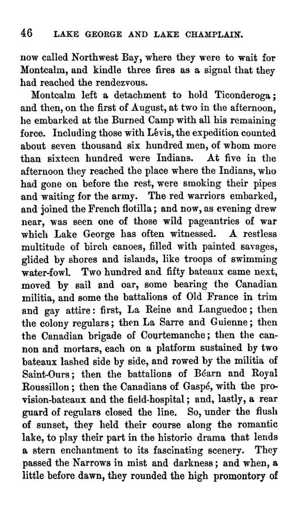 Historic handbook of the northern tour. Lakes George and Champlain; Niagara; Montreal; Quebec.