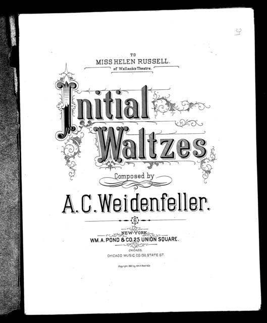 Initial waltzes