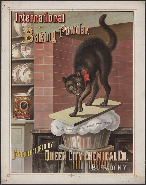 International baking powder. Manufactured by Queen City Chemical Co., Buffalo, N.Y.