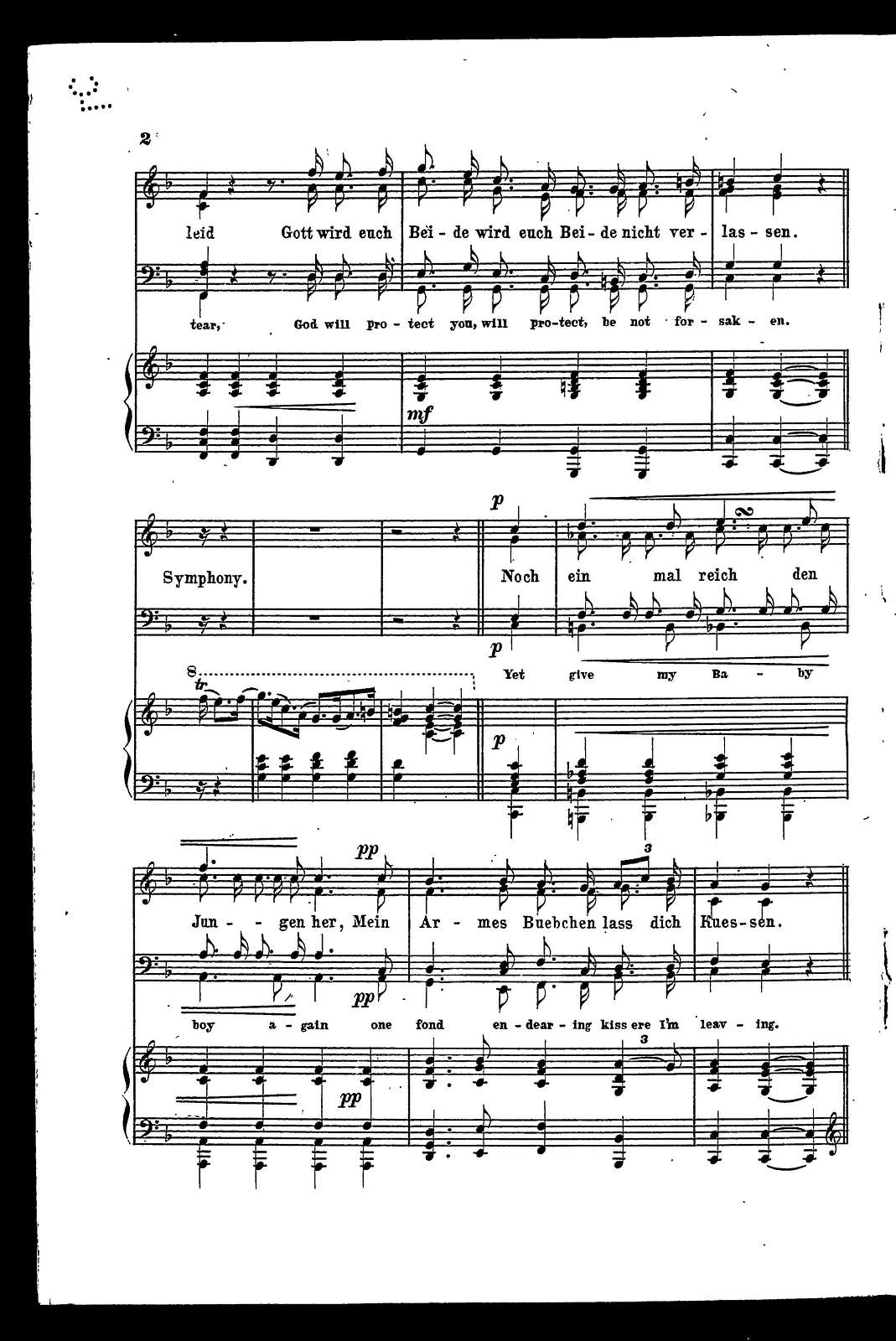 """Landwehrmann's """"abschieds"""" lied - The soldier's parting song"""