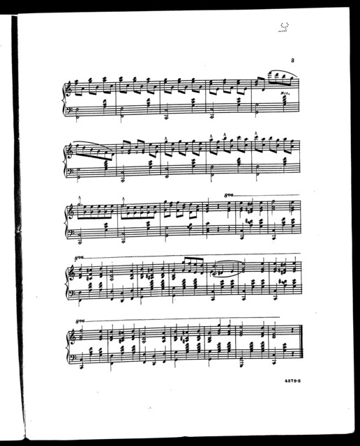 Litta; Morceau characteristic