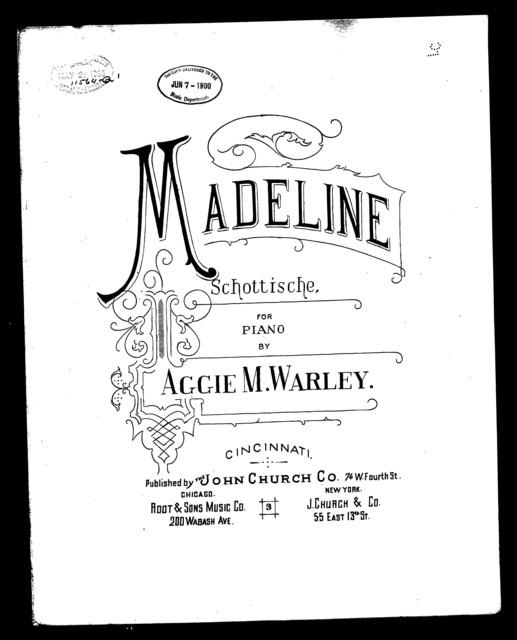 Madeline schottische