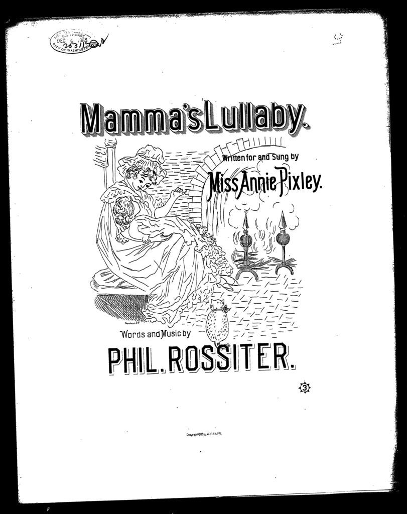 Mamma's lullaby