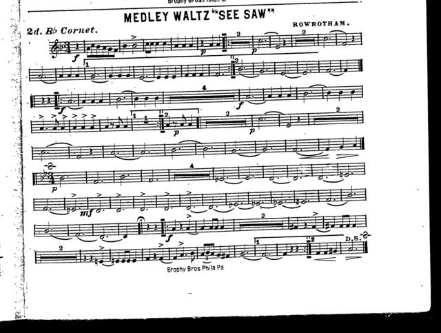 """Medley waltz """"See saw"""""""