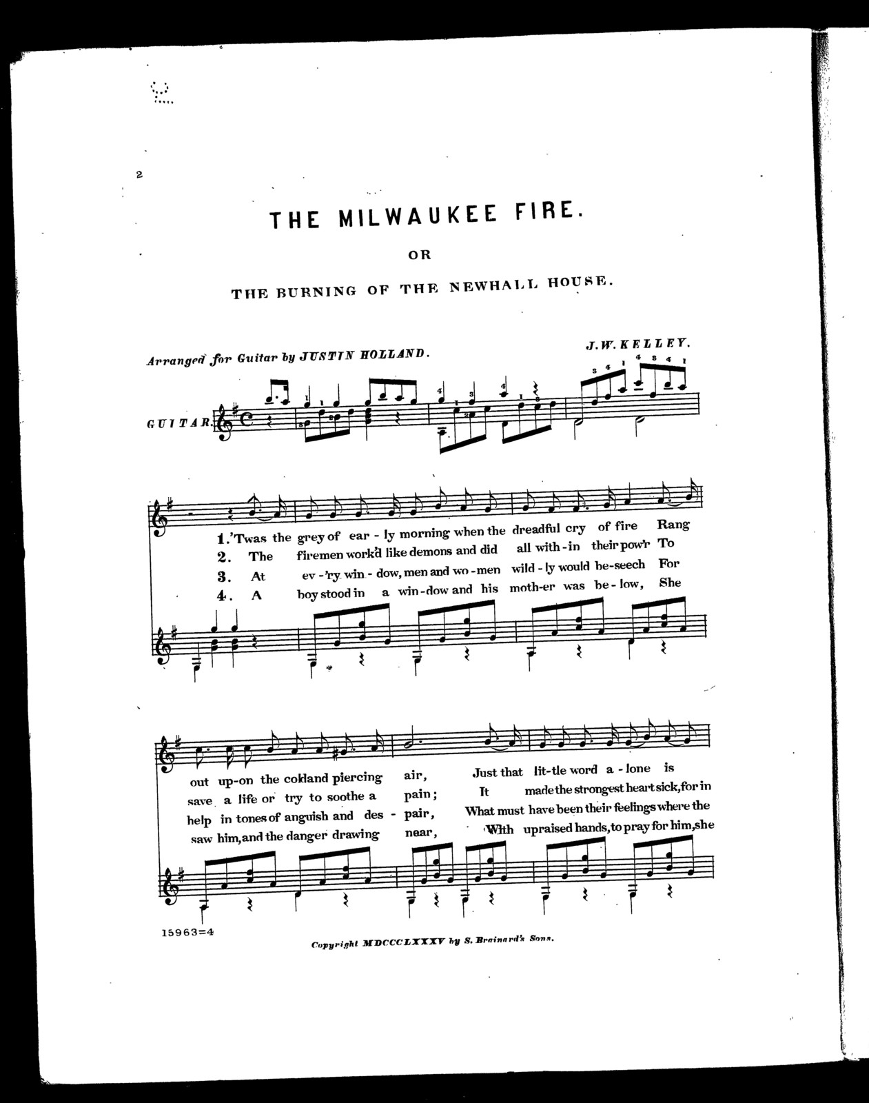 composition about fire in the house
