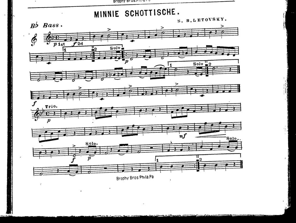 Minnie schottische