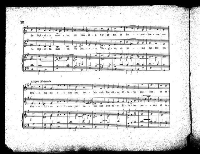 Missa in honorem St. Caecelia, V. M