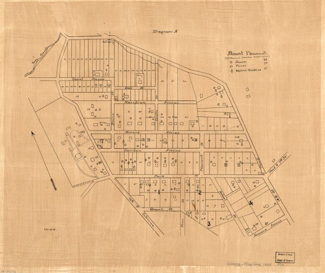Mount Pleasant (S.P. Browns suburban subdivision) : [part of N.W. Washington D.C.].