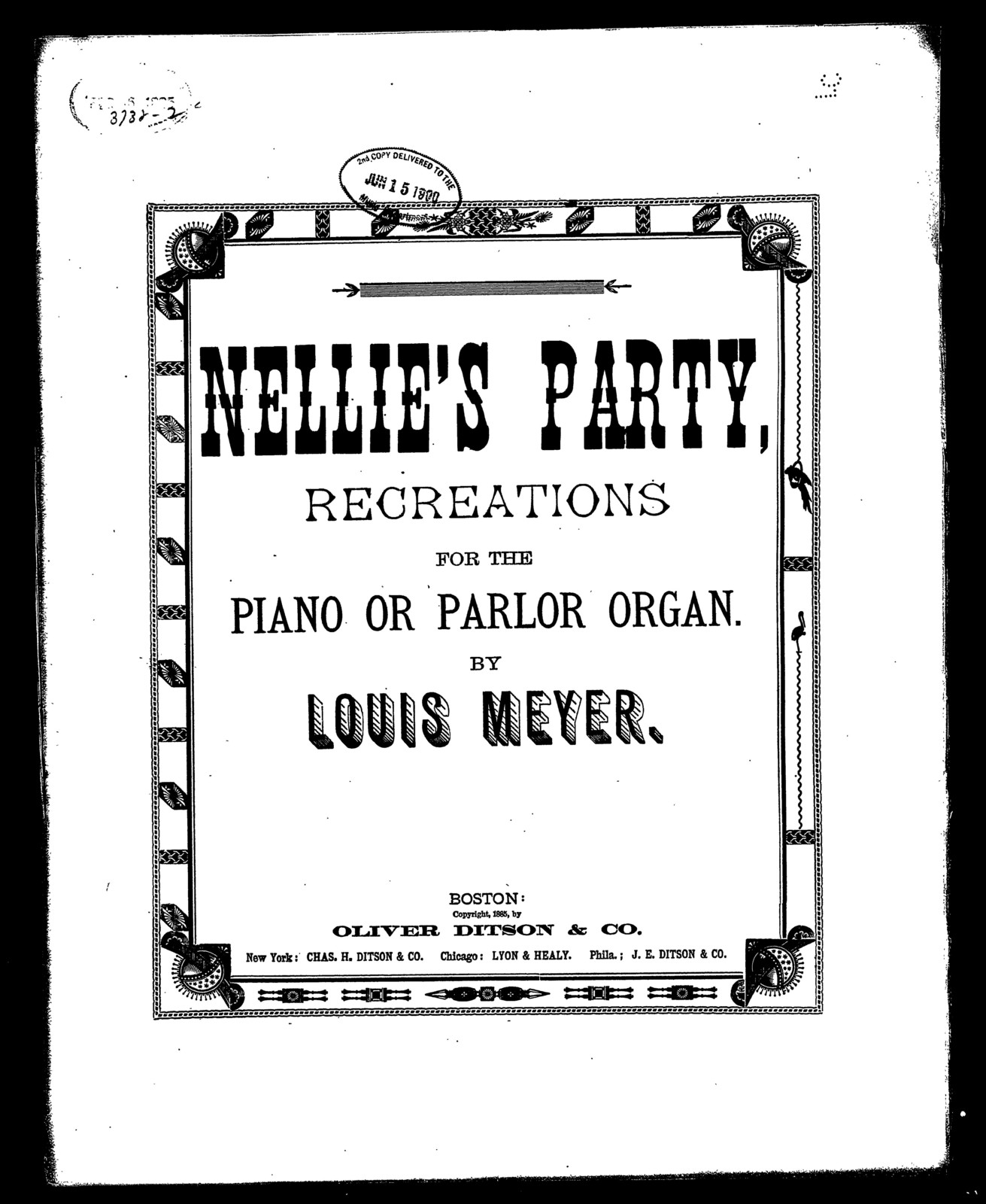 Nellie's party; Recreations