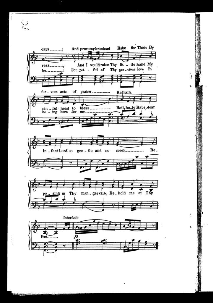 Christmas Hymns.New Christmas Hymns Picryl Public Domain Image